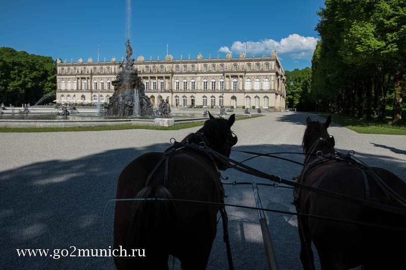 Херренкимзее замок как добраться из Мюнхена