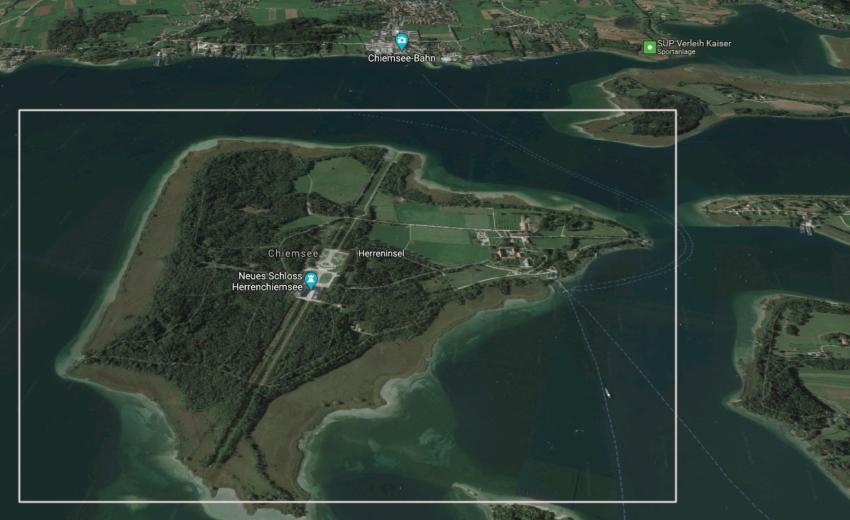 Мужской остров Херренинзель Кимзее и его замки
