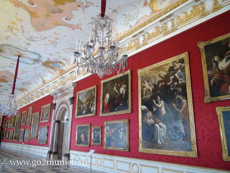 Новый дворец Шляйсхайм Мюнхен