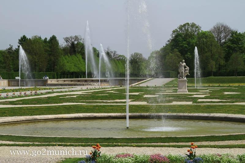 Мюнхен дворец Шляйсхайм