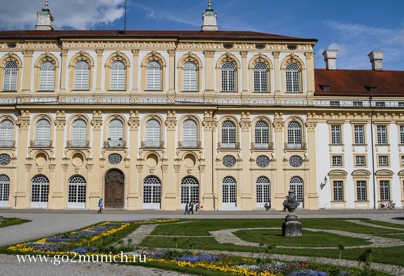 Шляйссхайм дворец замок Мюнхен