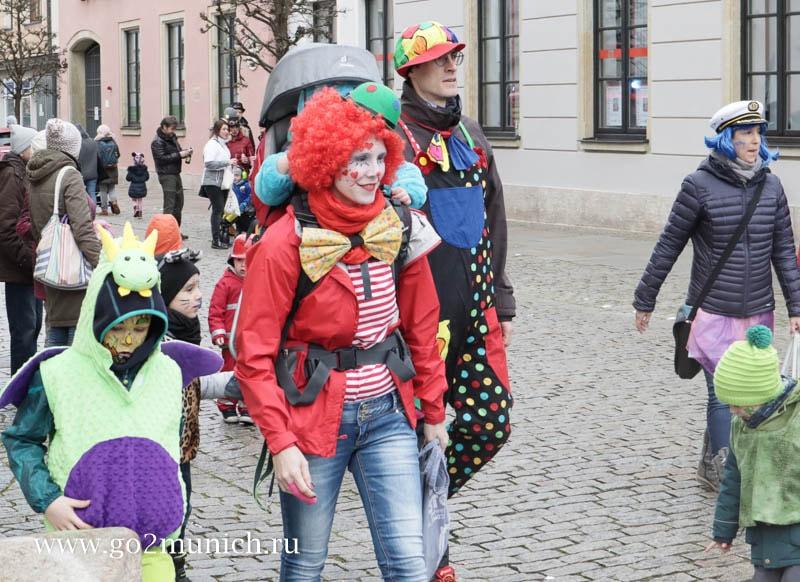 Фашинг (Fasching) карнавал в Мюнхене