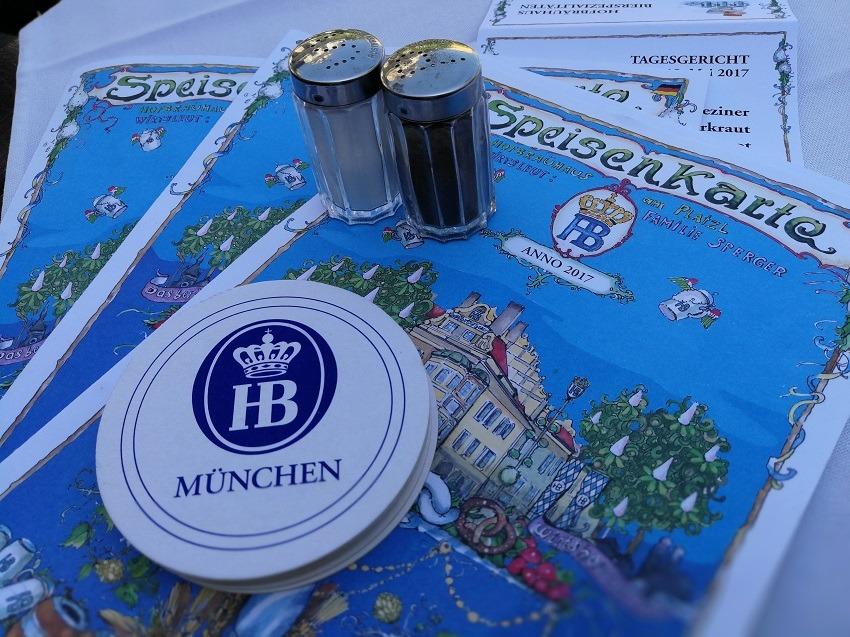Пивной ресторан Хофбройхаус меню