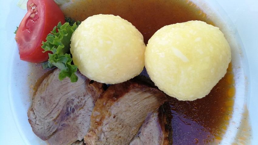 Блюда немецкой кухни кнедлики