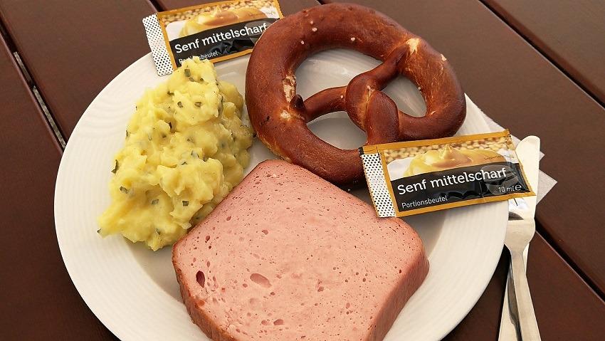 Баварский мясной хлеб леберкезе