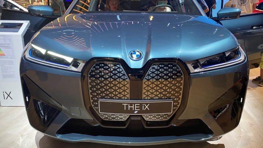 новый бмв ix мюнхен автосалон 2021