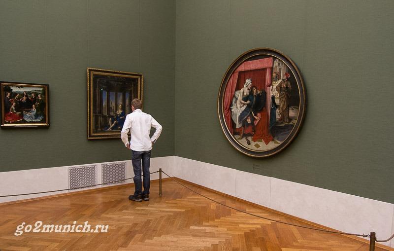 Пинакотека Мюнхен картины
