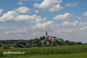 Монастырь Андекс в Баварии