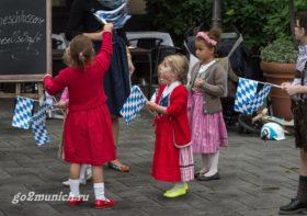 Фестиваль пива Октоберфест в Германии Мюнхен