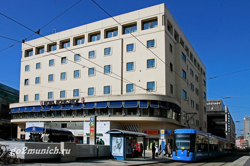 Отели Германии Мюнхен