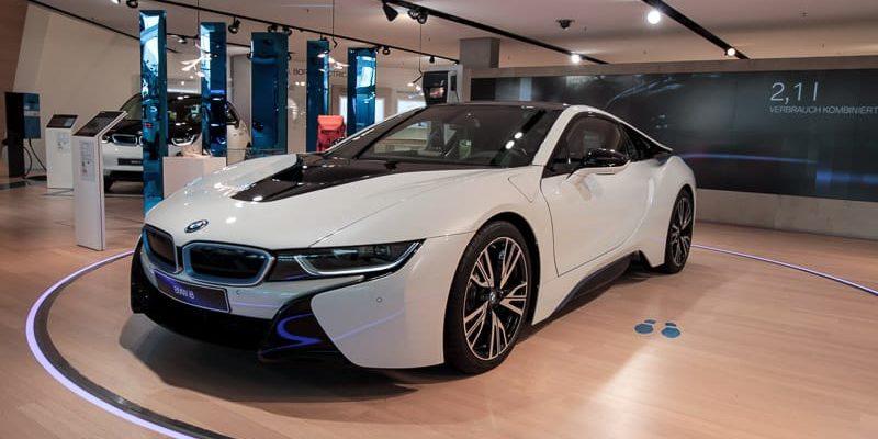 BMW i8 Мюнхен