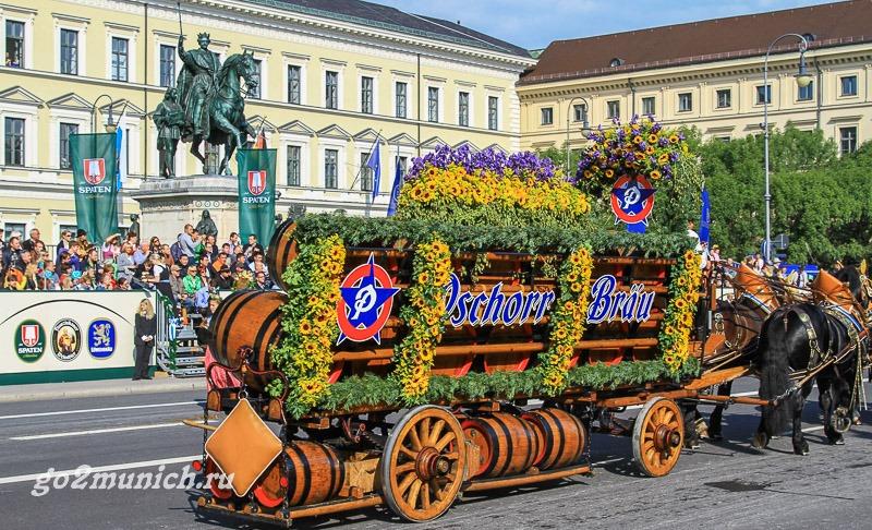 Фестиваль Октоберфест в Мюнхене