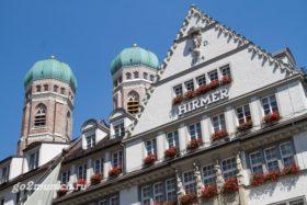 Церковь Фрауенкирхе в Мюнхене