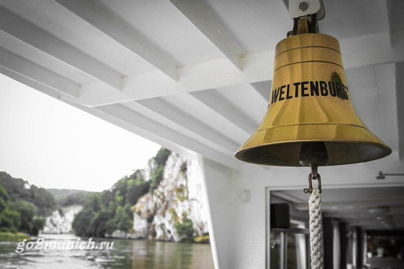 Экскурсия в монастырь Вельтенбург на кораблике