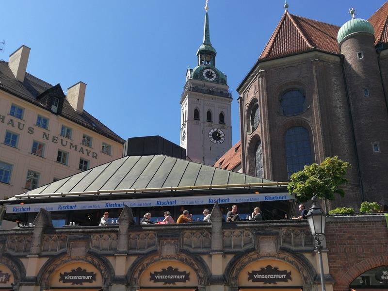 Мюнхен рынок Виктуалиенмаркт