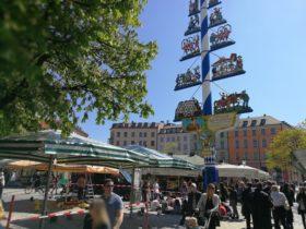 Рынок в Мюнхене Виктуалиенмаркт