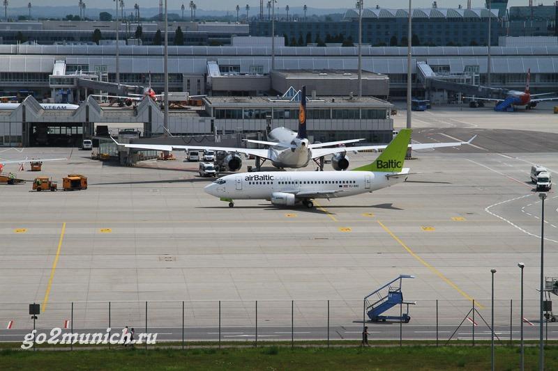 Как доехать из аэропорта Мюнхена до центра города