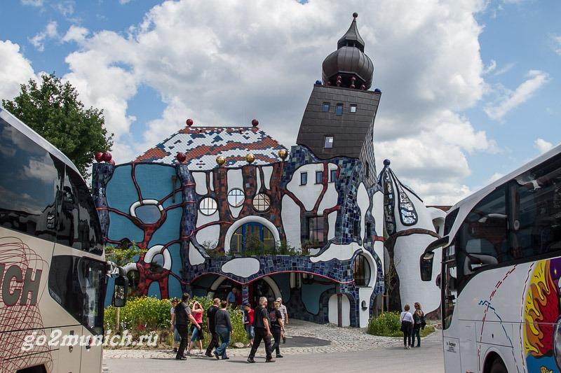 Фриденсрайх архитектор музей Абенсберг