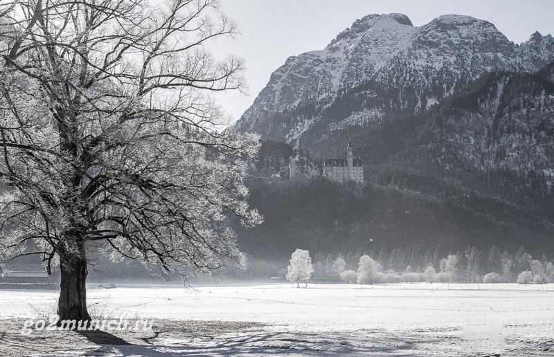 Фюссен зимой фото