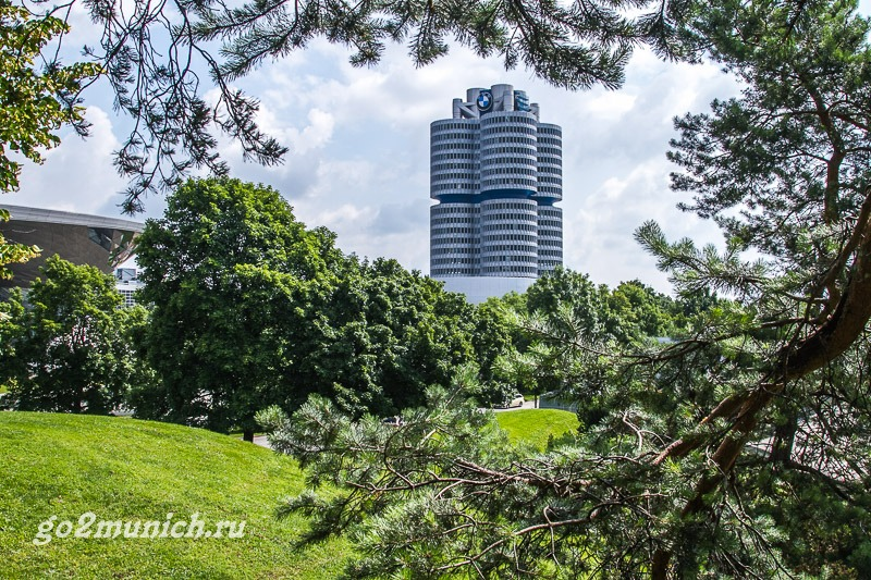 Где находится музей БМВ в Мюнхене