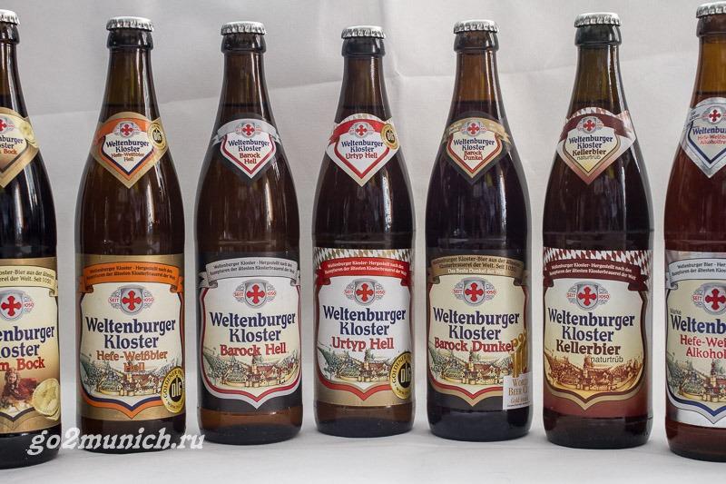 Вельтенбург (Weltenburg) Германия пиво